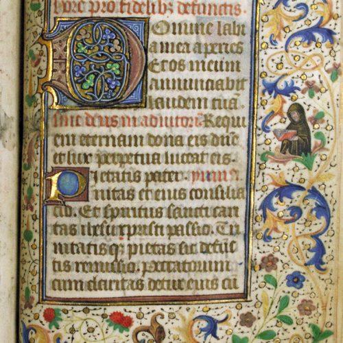 manuscrit gothique écrire